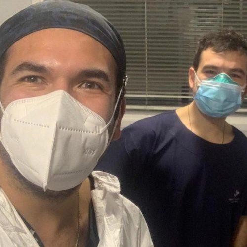 Médico UANDES relata su experiencia atendiendo pacientes Covid-19